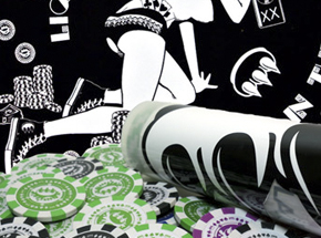 Art by Claw Money - Poker Chip Set