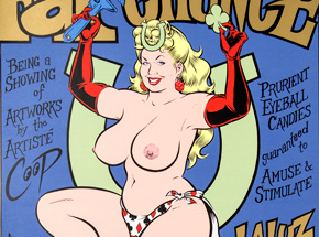 Art by Coop - Fat Chance Art Show - May 2nd - June 1st, 1997 at La Luz de Jesus Gallery
