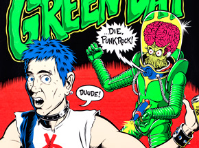 Art by Coop - Green Day - Dec. 13th, 1995 at The Olympic Auditorium