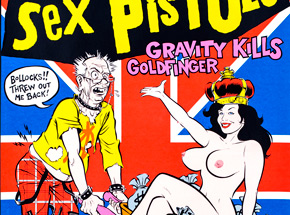 Art by Coop - Sex Pistols - Aug. 22nd & 23rd, 1995