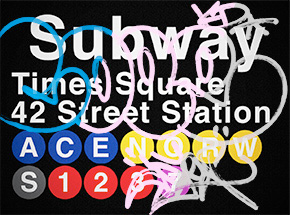 Art by Cope2 - 3-Print Set - 42 Street Station / Times Square
