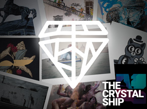 Art Collection by 1xRUN Presents - The Crystal Ship Print Suite