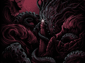 Art by Dan Mumford - The Furthest Depths - Crimson Edition