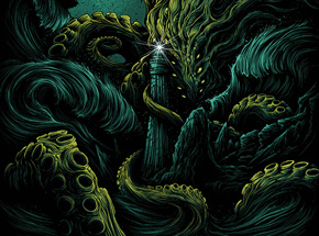 Art by Dan Mumford - The Furthest Depths - Kelp Edition