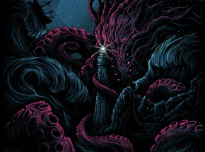 Art by Dan Mumford - The Furthest Depths - Azul Edition