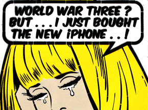 Art by Ben Frost - World War Three? - Hand-Painted Multiples