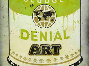 Original Art by Denial - Corporate Sludge
