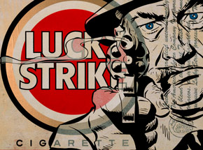 Original Art by Denial - Lucky Strike