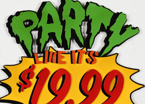 Original Art by Denial - Party Like It's $19.99