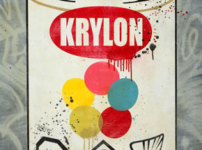 Original Art by Denial - Krylon - Pop Can