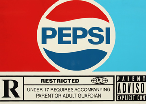 Original Art by Denial - The Pepsi - Rated R