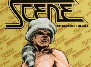 Art by Derek Hess - Scene 25th Anniversary 1995