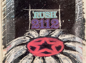 Original Art by Derek Hess - Rush - 2112