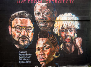Art Collection by 1xRUN Presents - Detroit Grind