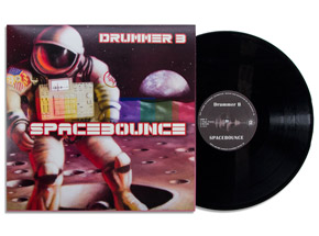 Art by Drummer B & Ron Zakrin - Spacebounce - Vinyl Album