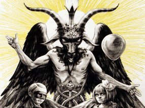Art Print by John Dunivant - The Devil
