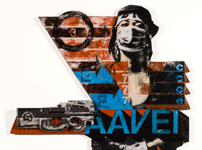 Original Art by Eddie Colla - AAVE 1 - Collaboration With David Young V