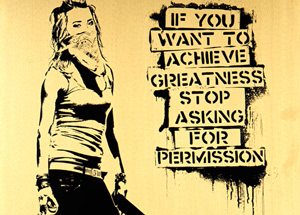 Art Print by Eddie Colla - Ambition - Gold Variant