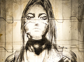 Original Art by Eddie Colla - Sentry 1