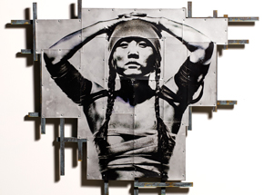 Original Art by Eddie Colla - Escutcheon 1 - Original Artwork