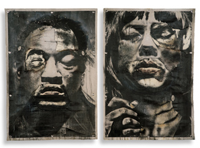 Original Art by Eddie Colla - The Monster And The Bride - Set