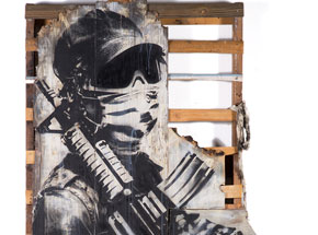 Original Art by Eddie Colla - Watchman
