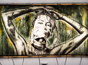 Original Art by Eddie Colla - We Are Shadows, And Night Falls