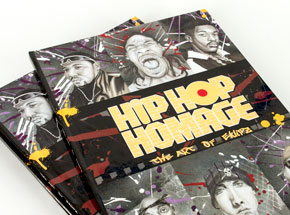 Book by Eklipz - Hip Hop Homage - The Art of Eklipz (Signed)