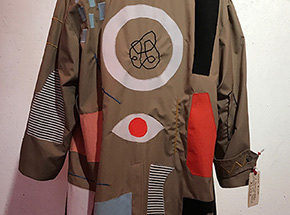 Original Art by Ellen Rutt - A Technicolored Dream Coat That's Not Just For Jacob