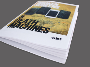Book by Elmer - Broken Screens & Death Machines - Zines