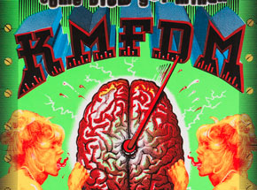 Art by Emek - KMFDM - Oct. 10 at The State Theatre Detroit MI