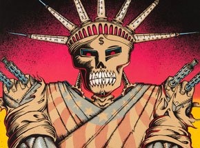 Art by Emek - Rage Against The Machine at Mesa Amphitheatre