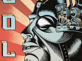 Art by Emek - Tool - July 25, 2001 at Columbiahalle - Berlin, Germany