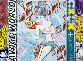 Art Print by Faile - Sub Rosa World