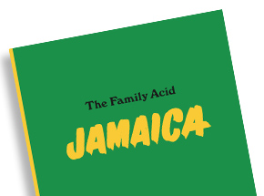 Book by Roger Steffens / The Family Acid - The Family Acid Jamaica - Book