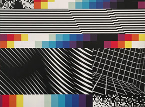 Original Art by Felipe Pantone - Chromodynamica 25