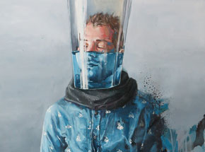 Original Art by Fintan Magee - Waiting Game