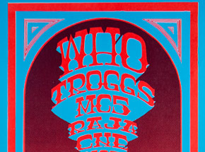 Art by Gary Grimshaw - The Who, Troggs, MC5 - April 7th - Coliseum