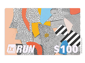 Art by 1xRUN Presents - $100 Gift Card