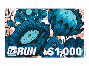 Art by 1xRUN Presents - $1000 Gift Card for $825