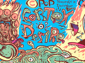 Art by Glenn Barr - CPOP Presents Cortex Of Desire 2000