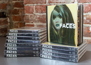 Book by Glenn Barr - Faces - Hardcover Book