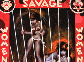 Art by Glenn Barr - Savage Woman