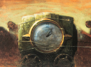 Art by Glenn Barr - Persistence Of Time