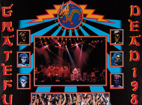 Art by John Werner - Grateful Dead 1988 Calendar Poster