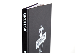 Book by Kimou Meyer - Grotesk A Decade of Swiss Design Lost In Brooklyn