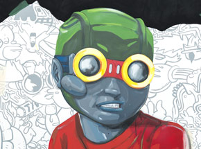 Original Art by Hebru Brantley - No Gardens Pt. 3