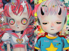 Art Print by Hikari Shimoda - Solitary Child 1 & 3 - Two Print Set