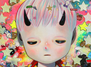 Art by Hikari Shimoda - Solitary Child 3 - Framed