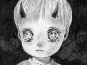 Original Art by Hikari Shimoda - Untitled Exclusive 01 - Original Sketch